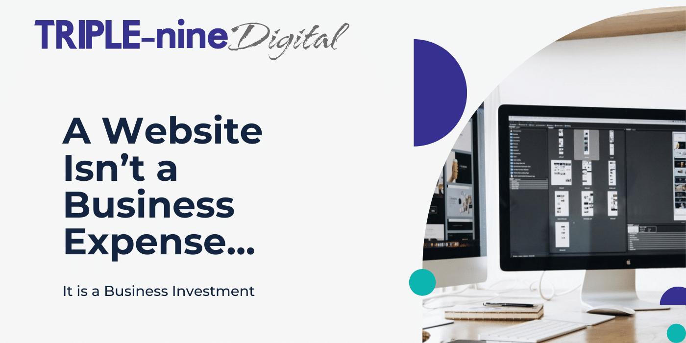 a website isn't a business expense